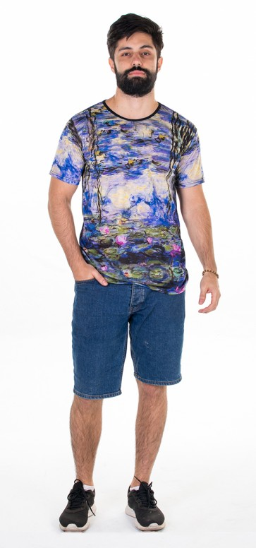 Camisa As Ninféias -  Claude Monet