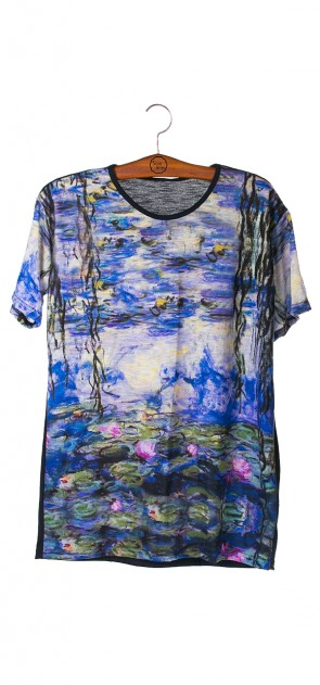 Camisa As Ninféias - Monet